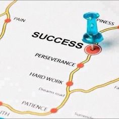 Road map to success.