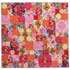 Hey - I have some of these fabrics!  And this one is a free pattern.  It might be a sign.