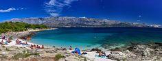 sumartin croatia | The beach at St. Roch Sumartin - Island Brač