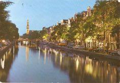 Amsterdam, Prinsengracht met Westertoren
