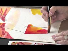 ▶ Watercolor Techniques for Daring Color with Anne Abgott - YouTube