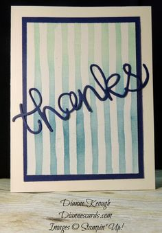 Cool Thank You Card