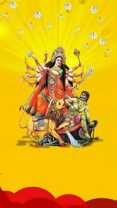 Shri Ganesh, Durga Maa, Durga Goddess, Save Tree Save Earth, Navratri Wallpaper, Ganesh Bhagwan, Earth Drawings, Kali Hindu, Mata Rani
