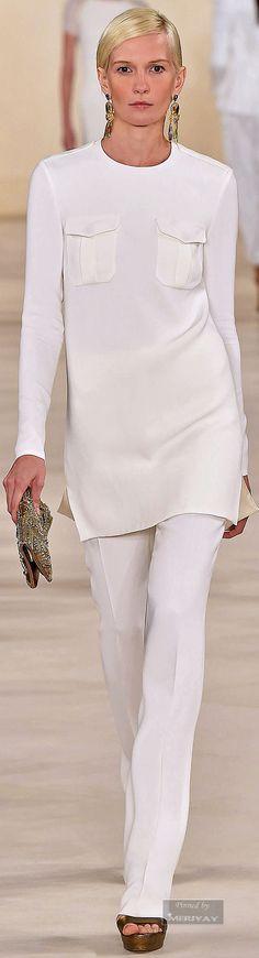 Ralph Lauren ~ Spring 2015.