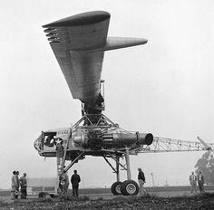 "Kellett-Hughes XH-17 ""Flying Crane"" helicopter - development history, photos, technical data"