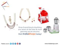 #Shop Everything & Anything you want at the #best & #most genuine #prices around. Visit #IndiaShopz today!