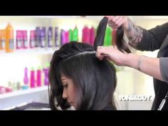 ▶ Blow Dry Technique: Voluminous Sexy Curls - YouTube .... Such a good tutorial, the educator is awesome, not to mention the outcome is unbelievable :)