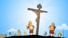 This animated version of the Easter story is narrated straight from the Bible, book of Mark Chapter verses (Contemporary English Version). Plus free printable lesson/activity for kids age Easter Activities For Preschool, Creative Activities, Animated Bible, Bible Society, Crucifixion Of Jesus, Easter Story, Religion, Holy Week, Bible For Kids