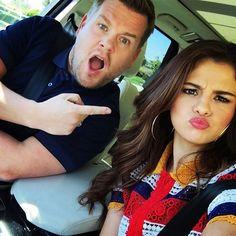 Selena Gomez Talks Love On James Corden's Carpool Karaoke cherryocean.com