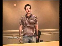 James Roday's Psych audition… I love me some Psych :)