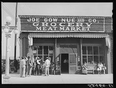 Mississippi Slave Records | Joe Gow Nue Grocery Store, Greenville, Mississippi