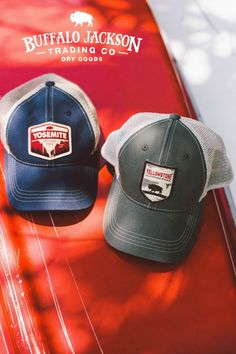 Awesome collection of men's hats! Great Valentines Day gifts for him! trucker hat | guide hat | ball cap