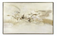 Zao Wou-Ki 16.9.69 SIGNED, SIGNED IN CHINESE; SIGNED, TITLED AND DATED 16.9.69 ON THE REVERSE; OIL ON CANVAS. EXECUTED IN 1969. Estimate   1,000,000 — 1,500,000  EUR