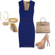 By Verona Queen, created by veronaqueen on Polyvore I love the dress and shoes.