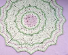 Bloom Baby Blanket Crochet PATTERN - INSTANT DOWNLOAD