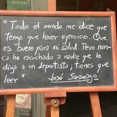 Cita notable de Saramago ;)