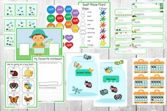 Minibeast Playful Learning Pack - numbers, letters, reading, tracing, shapes, colours. 6 activities. Early Learning Activities, Easter Activities, Activities To Do, Letter Sorting, Tracing Shapes, Bug Hunt, Color Fly, Baby Bug, Uppercase And Lowercase