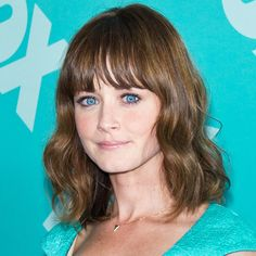 11 Times Birthday GirlAlexis BledelProved She Can Rock Bangs Best - Eyebrow Grazing Bangs  - from InStyle.com
