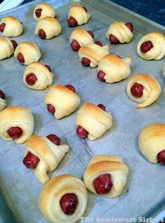 Little Pigs In A Blanket with Crescent Rolls and Smokies