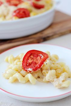 tomato mac n cheese