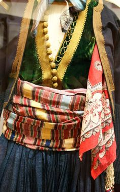another selection of interesting details from the national history museum, Athens: Greek Traditional Dress, Greek Costumes, National History, Folk Clothing, Folk Costume, History Museum, Ancient Greece, Menswear, Couture