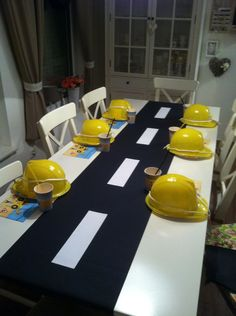 Deko kindergeburtstag Baustelle