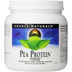 Source Naturals Pea Protein Power, 1 Pound * To view further for this item, visit the image link. (This is an affiliate link) #VitaminsDietarySupplements