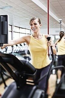 8 elliptical workouts: from total body to high intensity The 22 minute routine is great for the mornings.