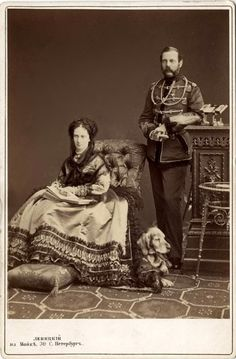 Alexander II and Marie/Grandparents of Nicholas