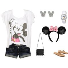 """Walt Disney World Outfit!"" Can't wait till May! Cute Disney Outfits, Disneyland Outfits, Disney World Outfits, Disney Inspired Outfits, Cute Fall Outfits, Disney Style, Walt Disney World, Cool Outfits, Summer Outfits"