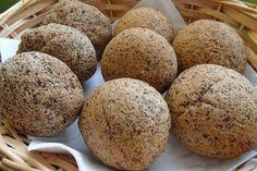 Paleo - gyógyul az egész család: Paleo zsemle Paleo Bread, Bread Baking, Gluten Free Recipes, Vegetarian Recipes, Winter Food, Muffin, Rolls, Vegan, Breakfast