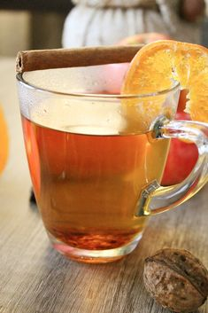 Herbstlicher Aloe Vera Tee mit Zimt und Orange - http://natuerlicher-lebensstil.de/aloe-vera-tee-mit-zimt-und-orange/ - teezeit - teatime - teerezept