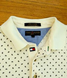 Tommy Hilfiger Shirt / TOMMY HILFIGER / by skinsvintagefashion, $24.00