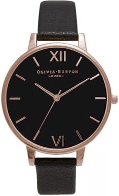 0a468355afc See the Women s Olivia Burton Big Dial Leather Strap Watch