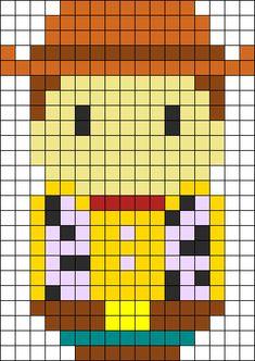 Woody Perler Bead Pattern / Bead Sprite
