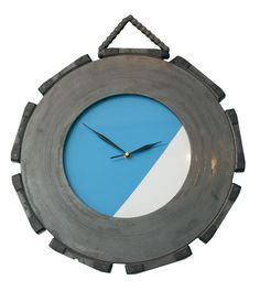 Carbon Brake Disc Clock made from Boeing 737 Parts