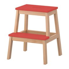 next ikea trip - a couple of these. BEKVÄM Step stool IKEA Solid wood, a hardwearing natural material. Hand-hole in the top step makes the step stool easy to move.