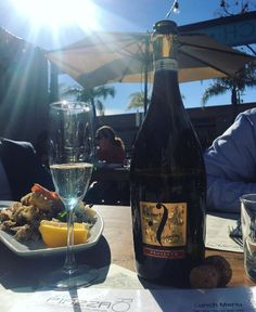 #Fantinel #Prosecco kissed by #California #sun   #wine #winelover #wineoclock #bubbles #lifeisgood #lajolla #sea #beach #colours #beautiful