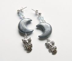 The Owl and the Moon earrings.