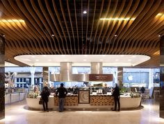timber fin ceiling - Google Search