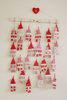 little houses Advent calendar