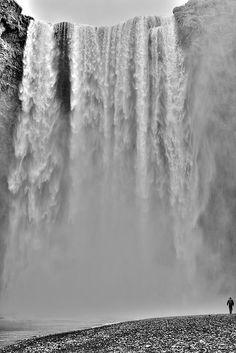 Waterfall Iceland Skogafoss  Breathtaking!