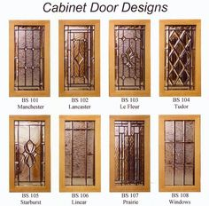 [ Leaded Glass Cabinets Stained Kitchen Doors With Cabinet For Sale ] - Best Free Home Design Idea & Inspiration Kitchen Cabinets Glass Inserts, Stained Glass Cabinets, Door Glass Inserts, Stained Glass Door, Glass Cabinet Doors, Kitchen Doors, Glass Panels, Leaded Glass Windows, Balkon Design