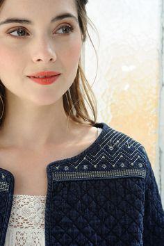 Jacket Olga Indigo - veste - Des Petits Hauts 3