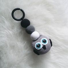 Crochet Owl Stroller Toy Virkade Djur 2e745e1588740