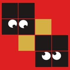 Pixel Monster eye Design