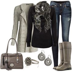 Weekend Neutrals, created by smores1165 on Polyvore
