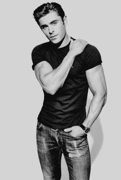 Zac Efron, the new icon model after John Travolta? ❤