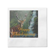 Thanksgiving Napkins Paper Napkins