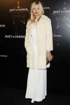 Kate Moss - supporting Mario Testino at the Etoile Awards in 2011